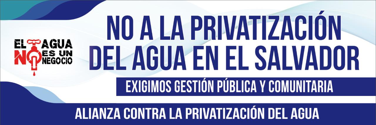 alianza contra la privatizacion